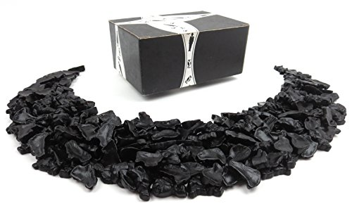 Fairy Candy Box - Gustaf's Platinum Collection Sweet Black Licorice Fairies, 2.2 lb Bag in a BlackTie Box