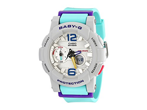 - Casio G-Shock Women's BGA-180-3BCR Green/Purple Watch