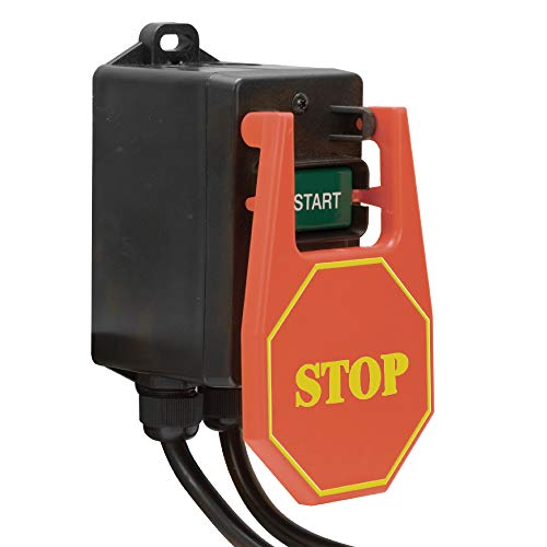 Price comparison product image Large Paddle Button Power Tool Switch (110V - 15amp)