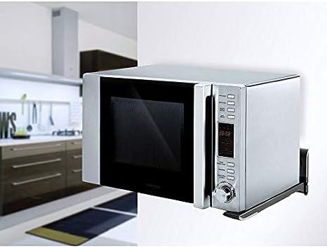 Maclean MC-607 B - Soporte de pared para microondas (hasta 35kg ...