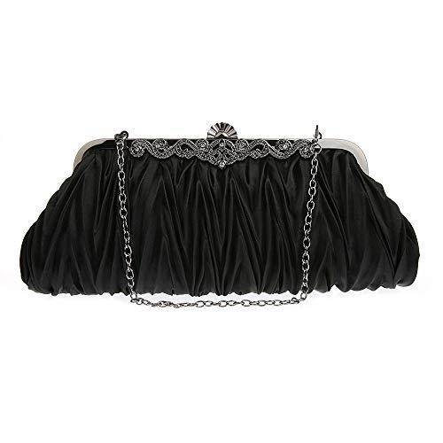 frizione di Lovely sera seta delle Black Rabbit di cerimonia colori cocktail del di splendida della seta disponibili Sacchetto in partito 6 nuziale borse del zrt7rC