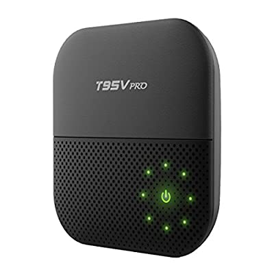 DEWEISN T95V Pro Android 6.0 Marshmallow OS smart TV Box, S912 Amlogic Octa Core Cortex-A53 2GB DDR /16GB eMMC, Dual 2.4/5G Wifi 1000M LAN Bluetooth4.0 True 4K UltraHD Video Player from SUNVELL