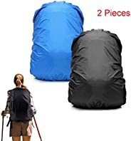 Poecent Backpack Rain Cover for (26-40L), Upgraded (Anti-Slip) Strengthened Layer for Hiking Camping Traveling