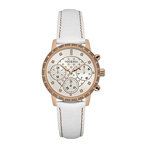 Guess W0957L1 Rose Gold/White One Size