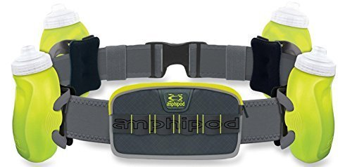 Amphipod RunLite Xtech 4 Plus Hydration Belt … (Green)