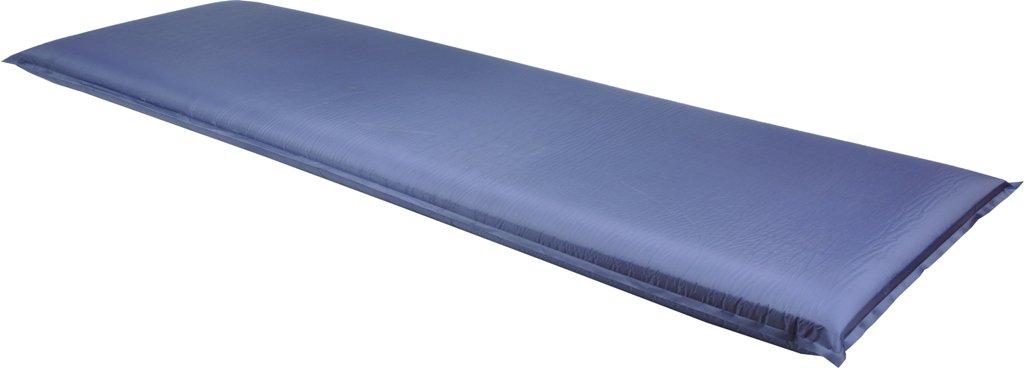 Selbstaufblasbare Thermomatte 200 x 66 x 10 cm in blau