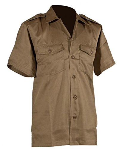Us Army Chemise Courtes Manches Kaki dPX5q