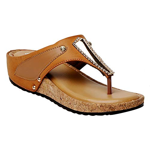 Feel it Comfortable Leatherite Casual/Formal Wedges Footwear for Women's & Girl's