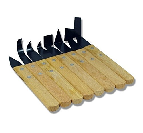 HCSC Set of 8 Pottery Wheel Tool Trimming Tools