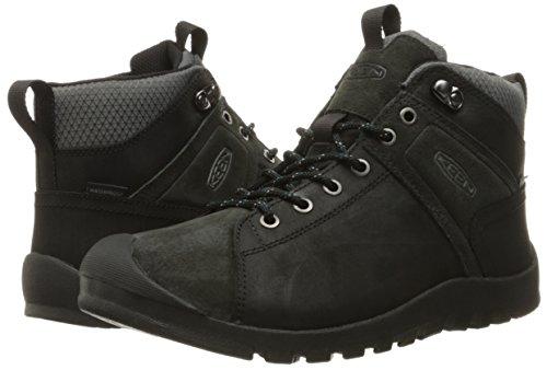 Pictures of KEEN Men's Citizen Mid Waterproof Shoe Black 8 M US 4