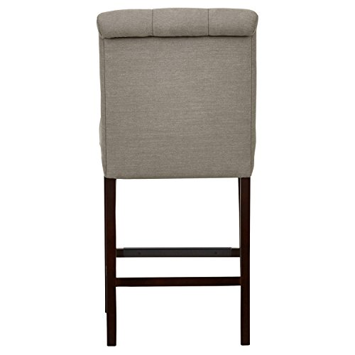 Stone & Beam Carson Tufted Counter Stool, 41