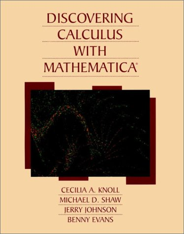 Discovering Calculus with Mathematica?