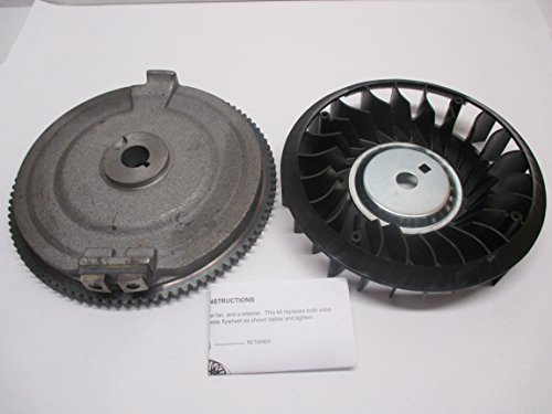 (Tecumseh Genuine 611253 Flywheel Fits Some OHV125 OHV130 OV358EA)