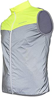 ROCKBROS Reflective Vest for Running Cycling High Visibility Safety Vest for Men