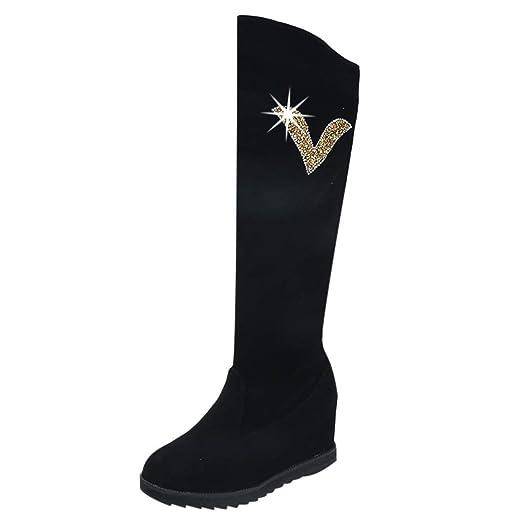 ღLILICATღ Botas Mujer Otoño Botas Mujer Invierno Zapato Plano De ...
