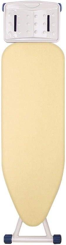 Tabla De Planchar Ajustable En Altura, Mesa De Planchado con Plancha De Vapor Y Almohadilla De Algodón Resistente Al Calor, Acero, 5 Colores (Color : C1)