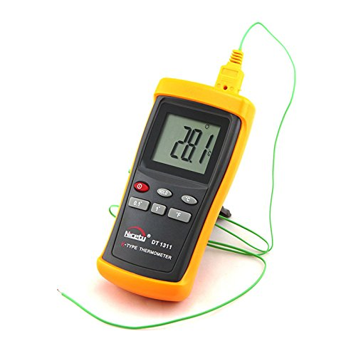 Review Digital K-type Thermocouple Thermometer