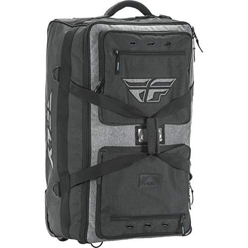 (Fly Racing 28-5136 Black/Gray Tour Roller Bag)