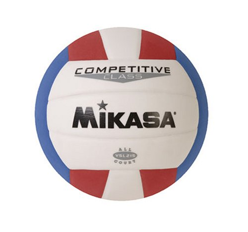 (Mikasa Competitive Class Volleyball (Red/White/Blue))