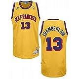 Wilt Chamberlain #13 San Francisco Warriors NBA Throwback Jersey All Sizes RARE!