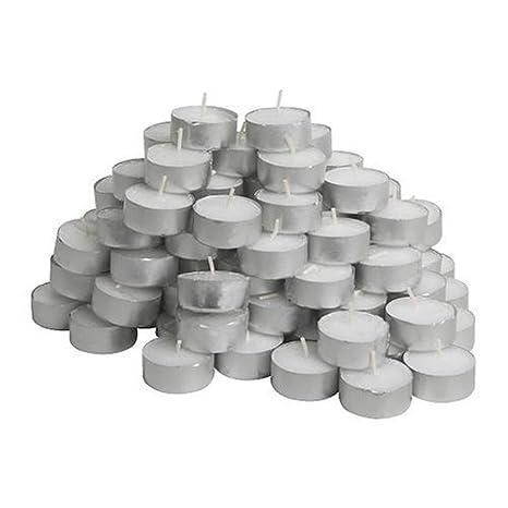 Amazon.com: Unscented Velas de té bolsa de 100: Home & Kitchen