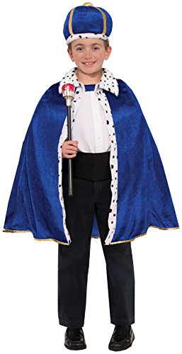 [Forum Novelties King Robe & Crown Set Costume] (King Toddler Costume)