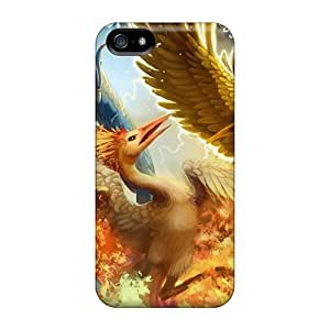 Tpu Case For Iphone 5/5s With LauraGroff-Y Design