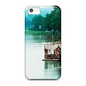 Iphone 5c Covers Cases - Eco-friendly Packaging(huts On A Southeastern Asian River)