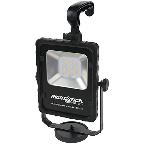 Nightstick NSR-1514 Rechargeable Led Area Light with Magnetic Baseblack