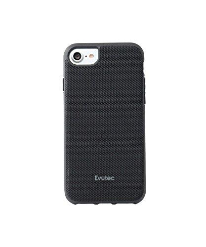 Evutec iPhone 6/6s/7/8 Compatible Case, AERGO Series Ballistic Nylon + 3D TPU Interior Wireless Charging Compatible Premium Prot