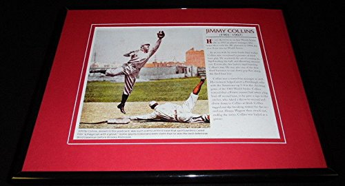 Jimmy Collins Framed 11x14 Photo Display Red Sox (Gallery Collins)