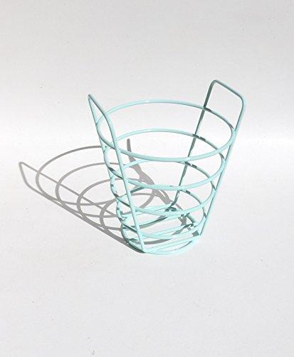 Aqua Basket Wire Centerpiece Toiletries Remote - Remote Nelson