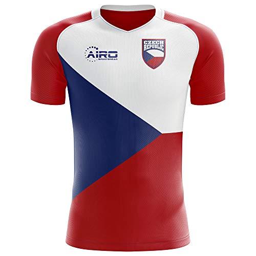 Airo Sportswear 2018-2019 Czech Republic Home Concept Football Soccer T-Shirt Jersey (Kids)