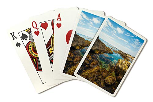 Carmel, California - Hidden Beach, Point Lobos State Natural Reserve - Photography A-93979 (Playing Card Deck - 52 Card Poker Size with Jokers)