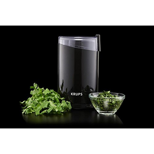 Krups F20342 12-Cups Capacity Electric Spice and Coffee Grinder with Stainless Steel Blade