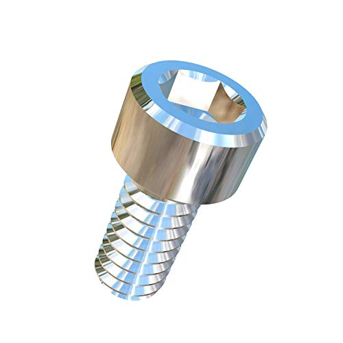 (Allied Titanium 0032486, (Pack of 25) #2-56 X 3/16 UNC Socket Head Titanium Machine Screw, Grade 2 (CP))