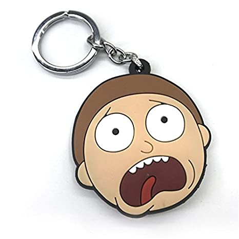 galigeigei Rick y Morty PVC Llavero: Amazon.es: Juguetes y ...