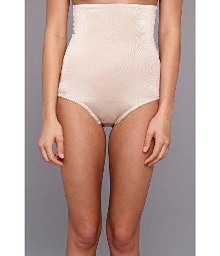 TC Fine Intimates Women's Plus Size Even More Triple-Ply Midriff Hi-Waist Brief 485, Nude, MD