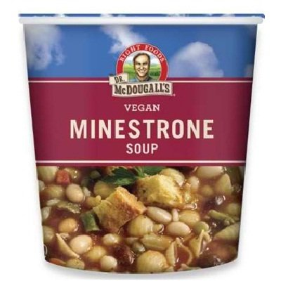 Dr. Mcdougall's Minestrone Big Cup Sp 6x 2.3OZ