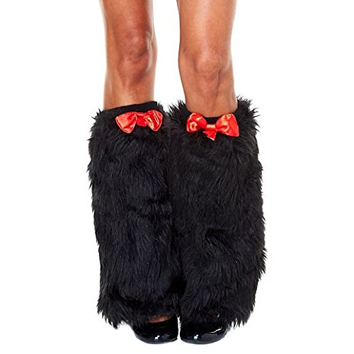 Fancy Face Paint Color Halloween Cat In Hat Furry Leg Warmers - Cat In The Hat Leg Warmers