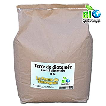 Tierra de diatomée comestible para gatos y perros - Anti Chip Natural - 25 kg: Amazon.es: Productos para mascotas