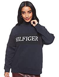 Tommy Hilfiger Laureen Mock NK Sweatshirt LS Chaqueta para Mujer