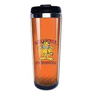 Funny Garfield Insulated Thermal Coffe Mugs/Travel Mugs/Vacuum Cup