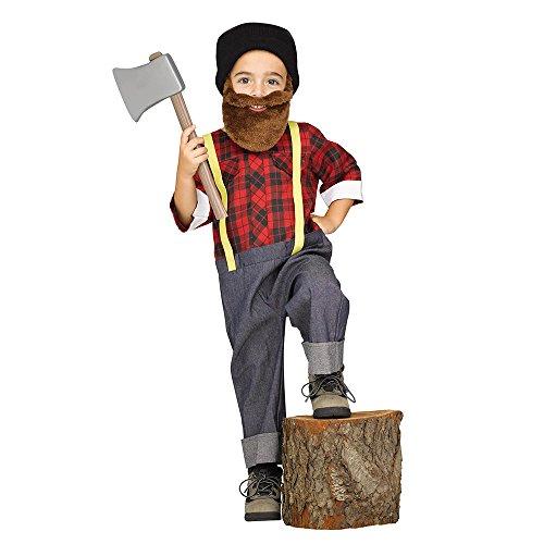 Fun World Lumberjack Toddler Halloween Costume - Funtober