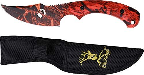 Elk Ridge TA-28OC Fixed Blade Knife 8-Inch Skinner Designed by Tom Anderson by Elk Ridge