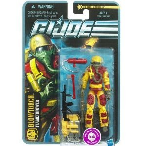 G.I. Joe Pursuit of Cobra 3 3/4 Inch Action Figure Blowtorch