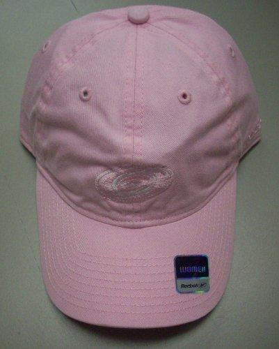 - Reebok Carolina Hurricanes Slouch Strap Womens Hat E907W - Pink