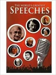 Buy The Worlds Greatest Speeches Book Online At Low Prices In India The Worlds Greatest Speeches Reviews Ratings Amazon In