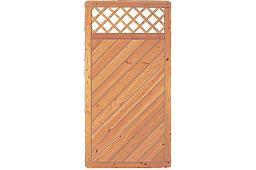 Douglas Fir Woodstore Trade Wooden Party Photo WOODSTORE24 Privacy Fence 90 x 180 cm (Series  Doben – Light