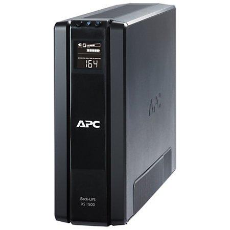 APC BX1500G Power-Saving Back-UPS XS Backup System, 1500VA, 10 Outlets, 355 J